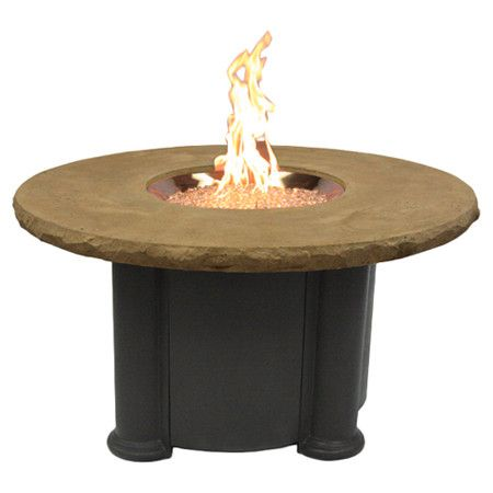 Found it at Wayfair - Colonial Fire Pit Coffee Table in Black