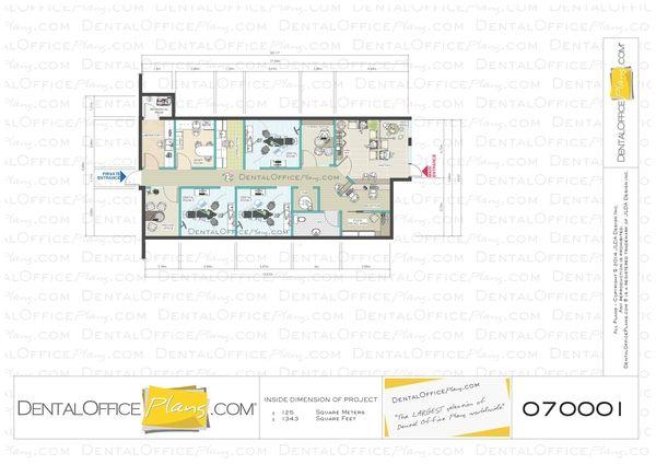 3 dental rooms plan