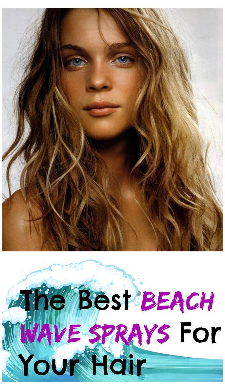 the best beach wave sprays for your hair