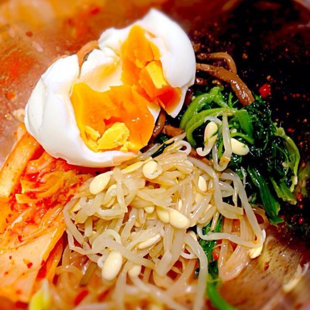 まだ少し寒いですが…ビビン麺が食べたくて! - 18件のもぐもぐ - ビビン麺 by 0122saya