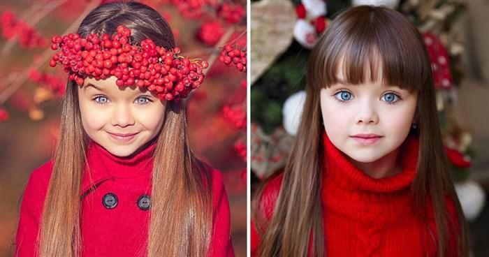 6χρονη από τη Ρωσία θεωρείται το πιο όμορφο κορίτσι στον κόσμο  #Παιδιά