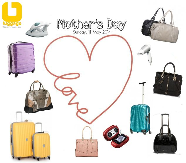 Mother's Day Specials - huge savings on all travelgoods at www.luggagegear.com.au