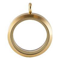 LARGE GOLD TONE MATTE LOCKET www.mycharminglockets.ca #SHD #southhilldesigns @byjanehedges
