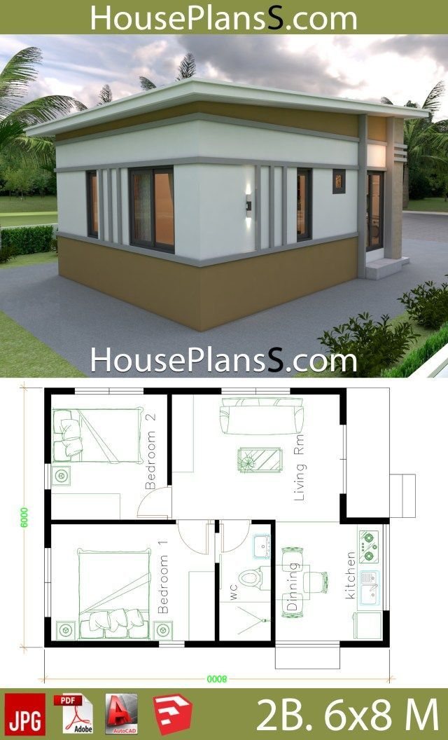 Small House Design Plans 2021 Arsitektur Rumah Rumah Indah Denah Rumah