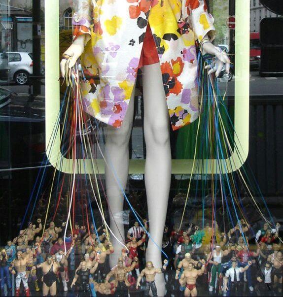 #photography #France #style #fashion #Paris #merchandising #window #display #toys #men