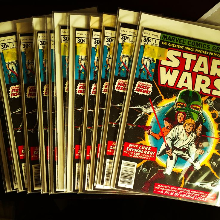 Sometimes we like to pretend like we are a shop in the 70s by getting a stack of Marvel Star Wars #1.