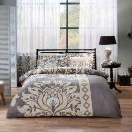 Tac Claudia gri - lenjerie de pat de lux din bumbac satinat 2 persoane - tesatura satin fina si placuta la atingere - confort deosebit in toate anotimpurile - modele si imprimeuri deosebite - 100% bumbac http://www.asternuturisiprosoape.ro/tac-claudia-gri-lenjerie-de-pat-din-bumbac-satinat-2-persoane.html