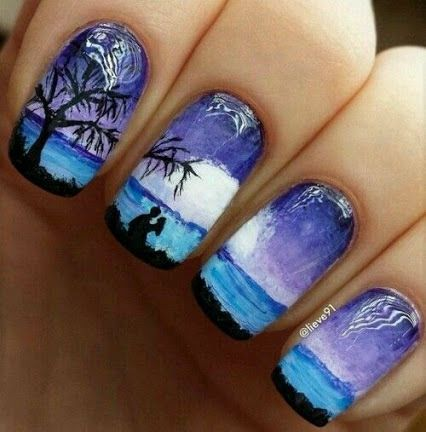 #uñas #nails #decoración #moda #fashion #2017 #2016 #trending #mujer #cool #girly #style
