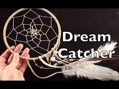 Emilloe Lefler:DIY Dreamcatcher...YouTube video 12:35min...Learn how to make a Dreamcatcher in this simple step by step DIY tutorial. This dreamcatcher tutorial is for kids and also for those that are beginners. So don't worry if you've never made one before this beginner dreamcatcher tutorial will get you started.