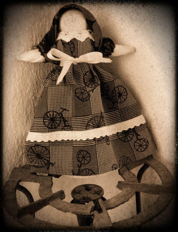 Marafona doll, from Monsanto in Portugal
