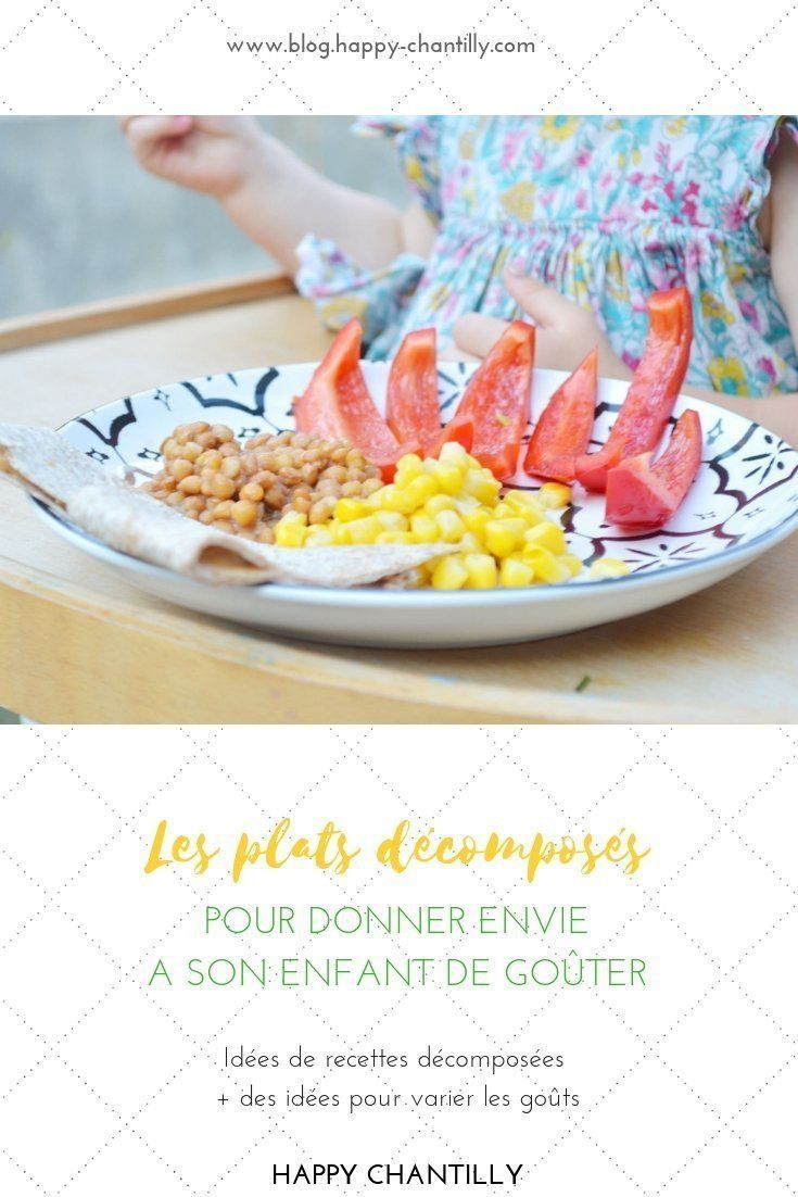 Les Plats Decomposes Pour Donner Envie A Son Enfant De Gouter Recettes De Fajitas Decomposees With Images Fajita Recipe Food Recipes