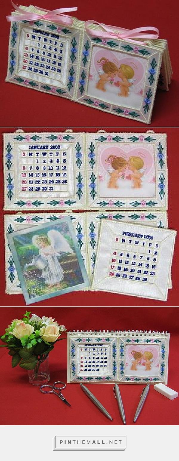 Interchangeable Applique Desktop Calendar - Sunshine Embroidery | OregonPatchWorks - machine embroidery designs, ...receive the calendars for 2016, 2017, 2018, 2019 and 2020. **** - created via https://pinthemall.net