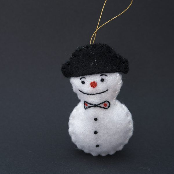 Snowman buy at #Broilly #KinkinPuppetsStore #handmade #handcrafted #marketplace #onlineshop #craft