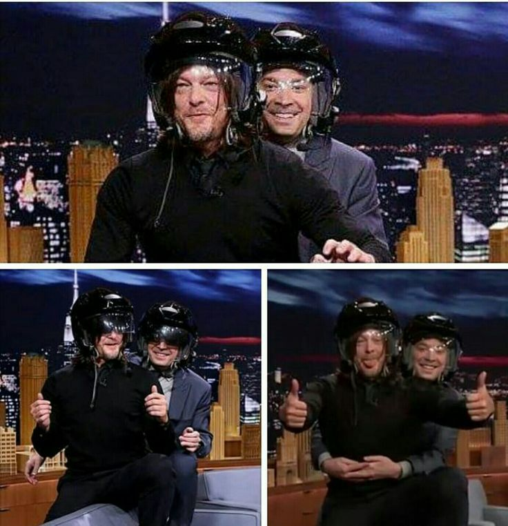 Ride w/Norman & Fallon 👍😎 #tongueporn 👅