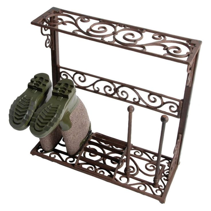 wellington boot stand welly boots holder cast iron shoe