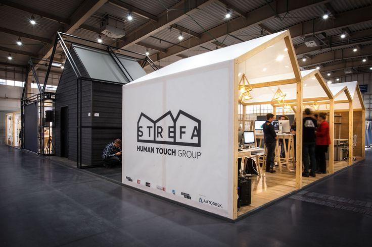 mode:lina architekci   architekt projekty wnętrz poznań   Human Touch Group Pavilion