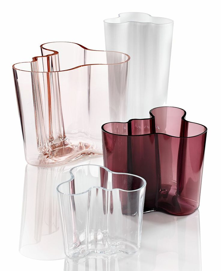 Iittala Vases, Aalto Collection - Bowls & Vases - for the home - Macy's Purple: $85