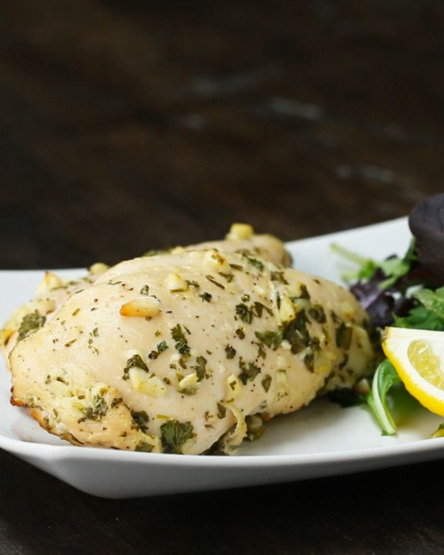 cilantro lime chicken. Preheat oven to 350°F. -Once thawed, place chicken on a baking sheet and bake for 25-30 min / until internal temp 165°F.