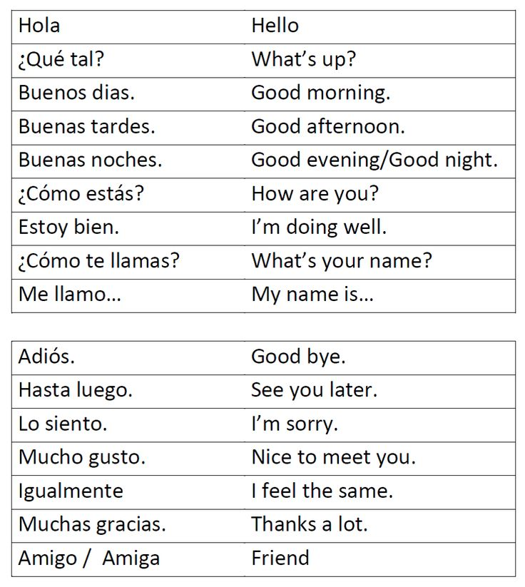greetings spanish worksheets for wampe pinterest