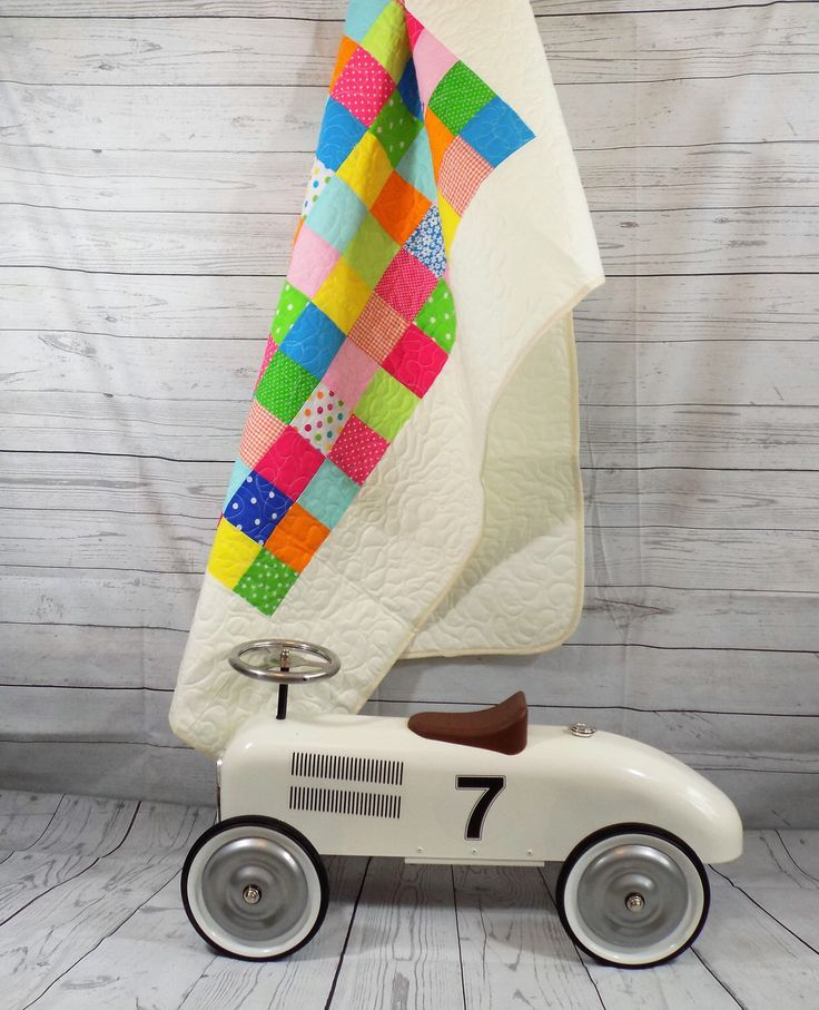 A personal favourite from my Etsy shop https://www.etsy.com/uk/listing/231567681/baby-quilt-baby-girl-blanket-homemade