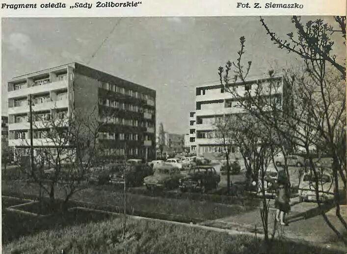 Sady Żoliborskie 1966
