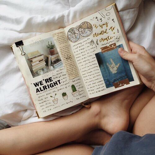 Imagen de book, tumblr, and journal