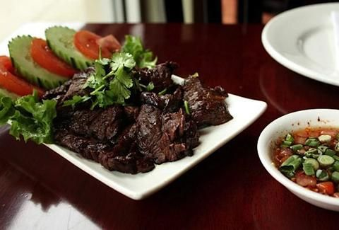 Opart is without a doubt a popular destination for some authentic Thai fare. Start the meal with the restaurant's most well known dish, Tiger Cry. Charbroiled beef is served with a house-made hot sauce that will have you crying... over how good it is.