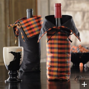 Wine Bags!: Holiday, Gift Bags, Wine Gift, Wine Bags At, Halloween Wine, Bags For Halloween, Wine Bags For, Bags At Grandinroad