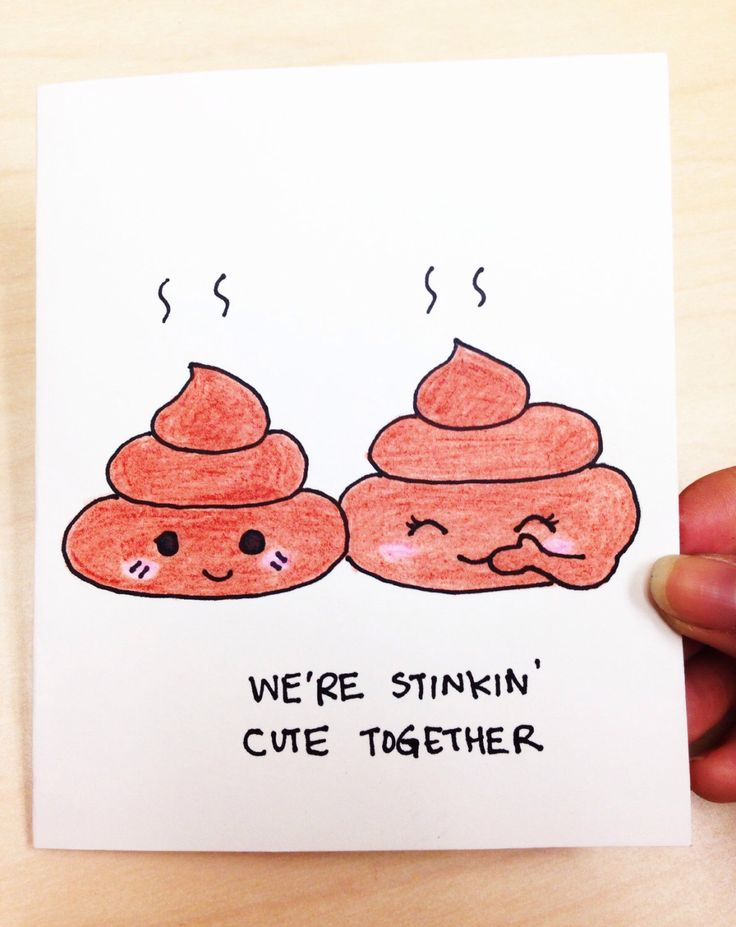 Cute love card, Funny valentine card, Cute Valentine card, poop joke, funny card for boyfriend, girlfriend, hand drawn anniversary card by LoveNCreativity on Etsy https://www.etsy.com/listing/214097332/cute-love-card-funny-valentine-card-cute