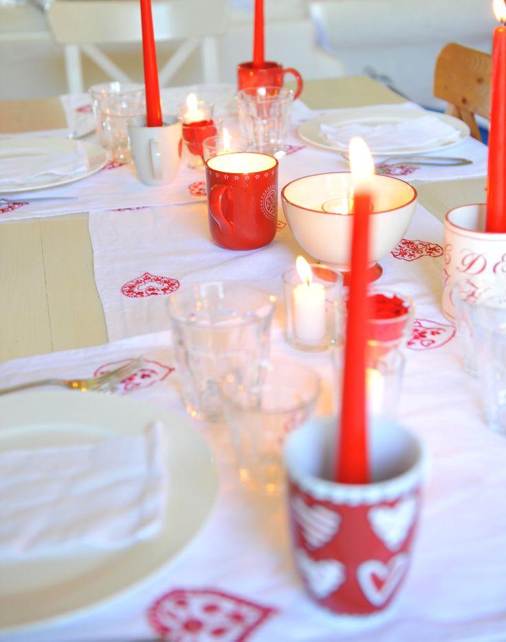 San Valentine Table