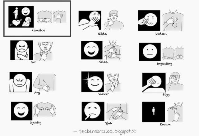 Känslor light | Tecken som stöd | Bloglovin'