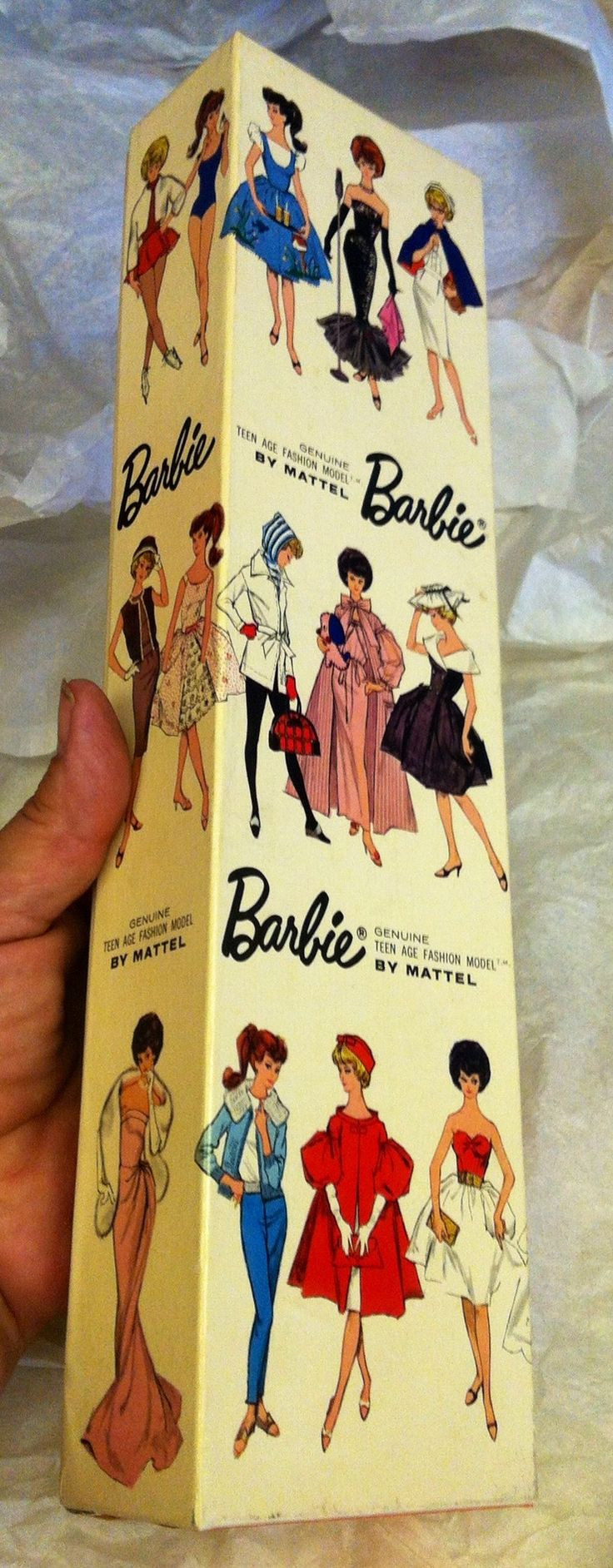 I had the barbie and box...I love this...such great packaging back in the day !!