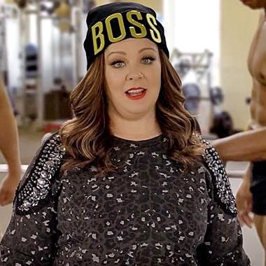 Movies: Melissa McCarthy pumps iron and curses in movie theater 'Don't Talk' PSA