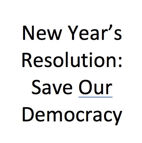 New Years Resolution: What You Can Do To Save Our Democracy :   The internet supports a global ecosystem of social interaction. Modern life revolves around the network with its status updates news feeds comment chains political advocacy omnipresent reviews rankings and ratings. The Pew Research Center reports show that nearly two-thirds of Americans get their news from social media. They read but they read on their phones iPads and computers and get their news and information from there. But…