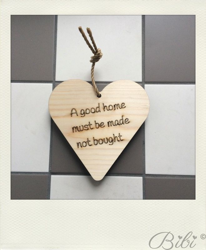 A good home must be made not bought