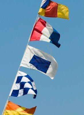 yacht flag etiquette