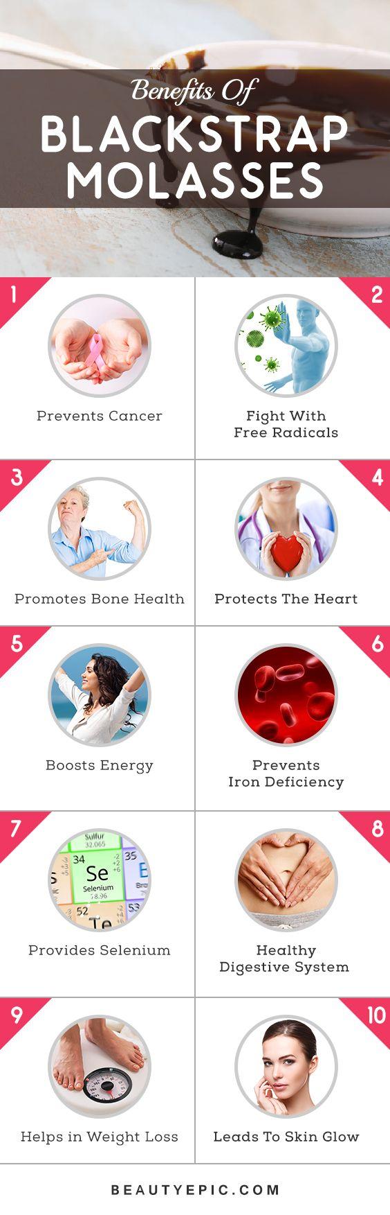 Top 10 Health Benefits of Blackstrap Molasses