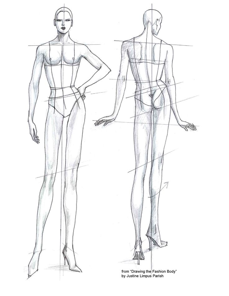 32 Best Croquis Images On Pinterest Fashion Drawings