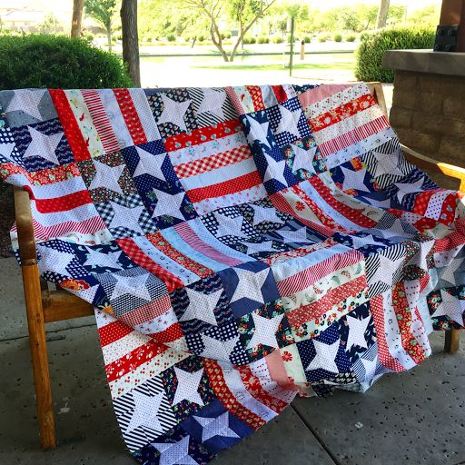 patch fabric patterns block flag quilt top patriotic america quilting red and quilts blue white