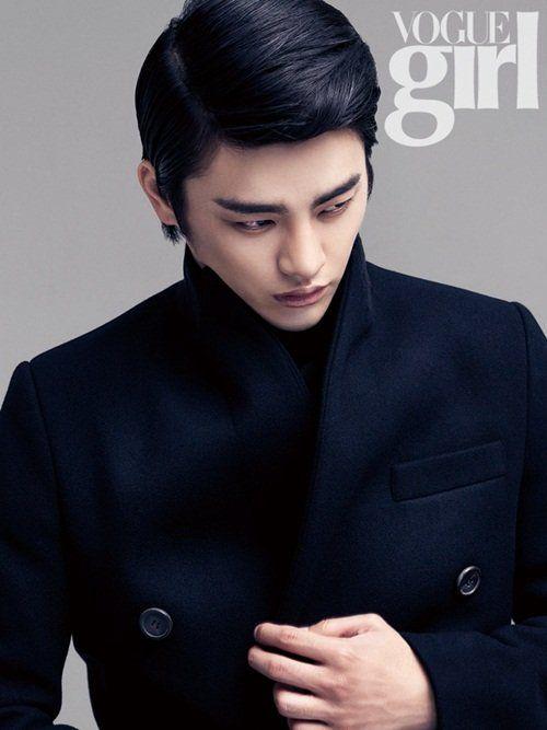 Seo In Guk in Vogue Girl Korea November 2012