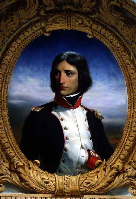 Napoleon Bonaparte as a Lieutenant Colonel of the Corsican National Guard (1792) by Henri Félix Emmanuel Philippoteaux