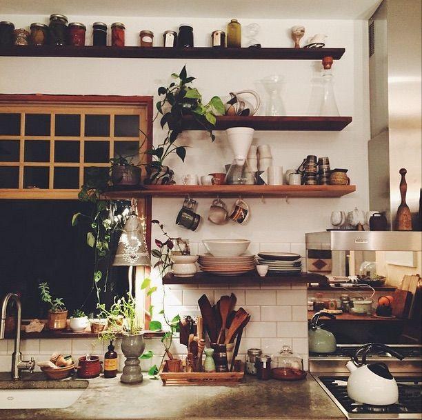 Wall Shelves Decorating Ideas Kitchen: Interior Design