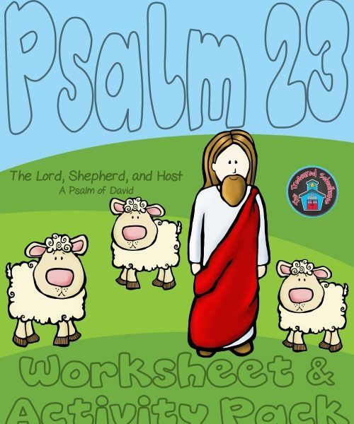 Psalm 23 The Lord Is My Shepherd Worksheet And Activity