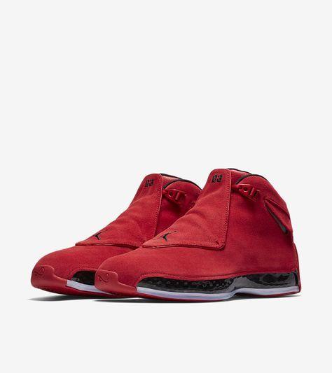 934ad249ecb70a Air Jordan XVIII (18) Retro  Gym Red   Black  -Release Date ...