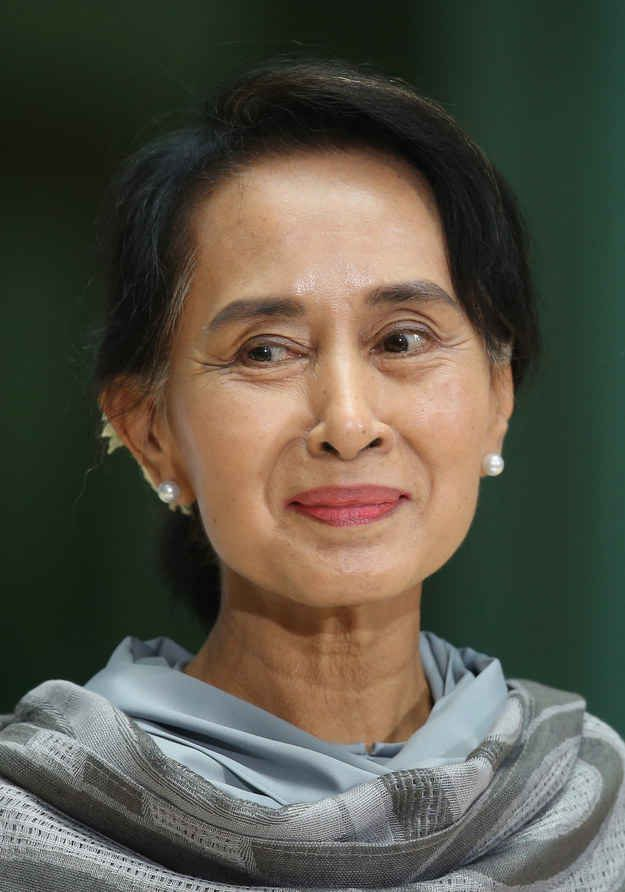 5. Aung San Suu Kyi, politician/Nobel Peace Prize winner  HOW COME I HAVE NEVER HEARD OF HER THIS LADY IS A BAMF