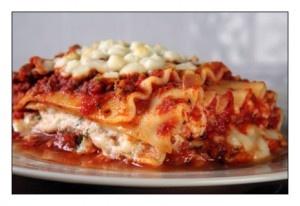 Gassy lasagna