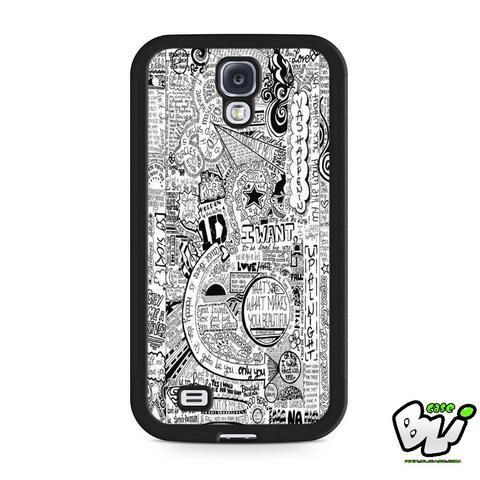 One Direction Samsung Galaxy S4 Case