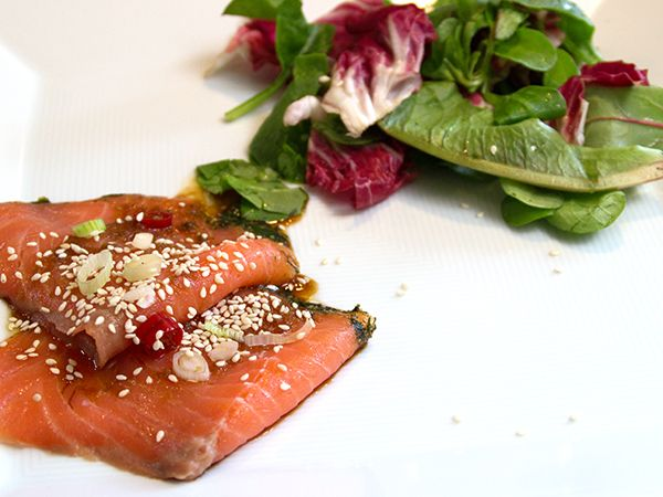 Najad lax med asiatisk touch | Recept.nu