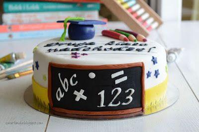 Cuculandia: PIERWSZA KLASA ZA NAMI Graduation cake