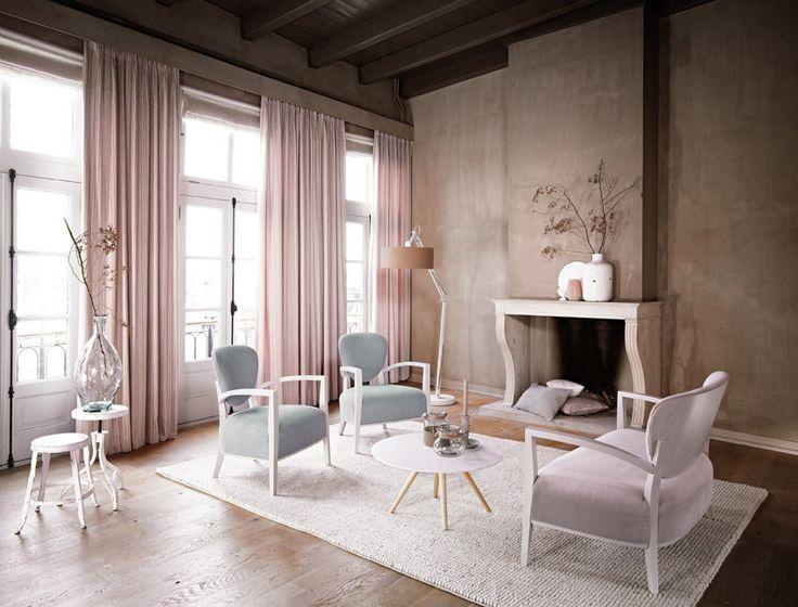 Meer dan 1000 ideeën over Roze Gordijnen op Pinterest - Gordijnen ...